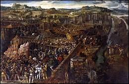 Durant la sixième guerre d'Italie, qui sont les deux rois ennemis ?