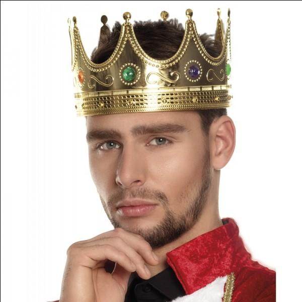 Un roi doit se montrer...
