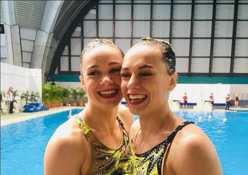 Comment se nomment ces deux nageuses ?