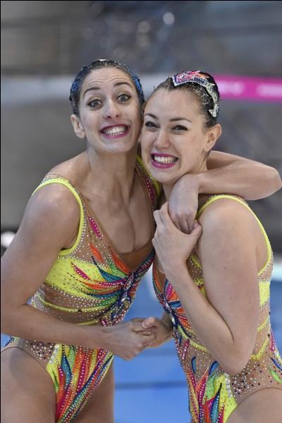 Comment se nomme ces deux nageuses ?