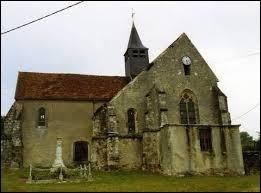 Vous avez sur cette image l'église Saint-Martin de Goussancourt. Commune Axonaise, elle se situe en région ...