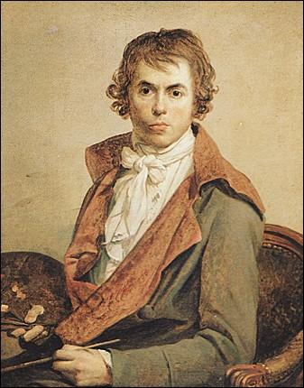 Juillet 1793 : Quel personnage a eu l'instant de sa mort ''immortalisé'' par Jacques-Louis David dont on voit le portrait en illustration ?
