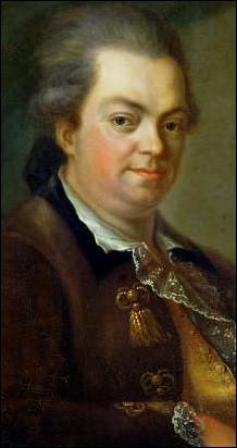 Août 1795 : Qui a écrit un roman racontant la vie de l'aventurier italien Joseph Balsamo appelé aussi comte de Cagliostro ?