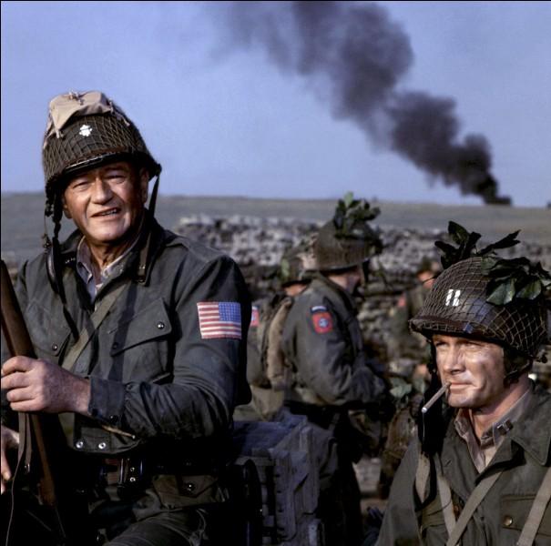 Quel est le titre du film retraçant les opérations du débarquement allié ?