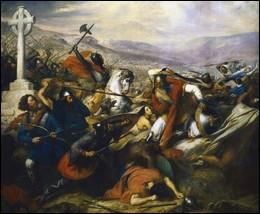 En quelle année se déroula la très célèbre Bataille de Poitiers ?
