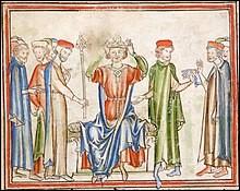 Lors de la conquête normande de l'Angleterre, qui était le roi du pays ?