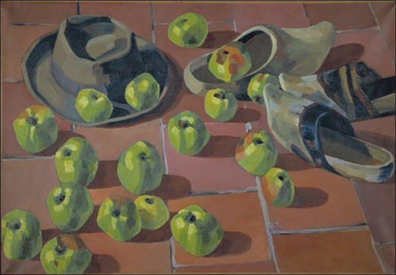 """Qui a peint """"Pomme, chapeau et sabots"""" ?"""