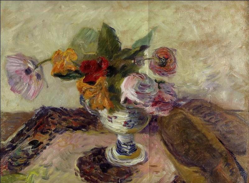 """Qui a peint """"Bouquet d'été et sabots"""" ?"""