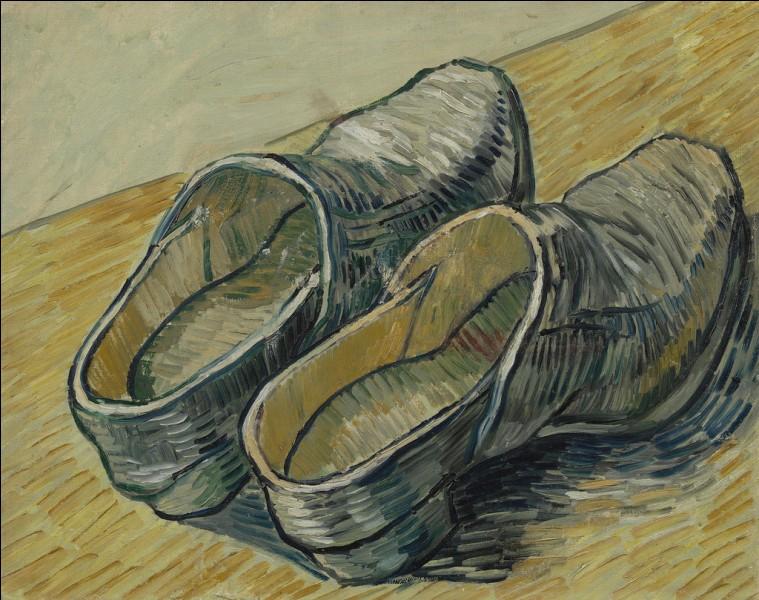 """Qui a peint """"Une paire de sabots en cuir"""" ?"""