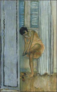 """Qui a peint """"Femme changeant de chaussures"""" ?"""