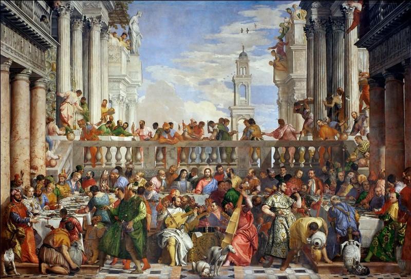"""Où se trouve actuellement le tableau """"Les noces de Cana"""" de Véronèse ?"""