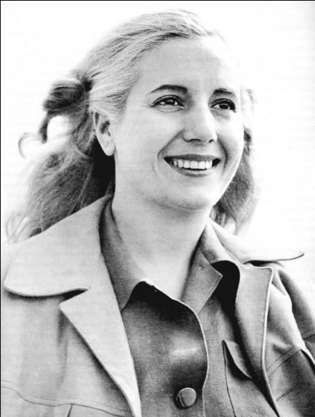 Femme du président argentin entre 1946 et 1952, elle a joué un rôle important dans la vie du pays et bénéficié d'une extraordinaire popularité. Son prénom est ...