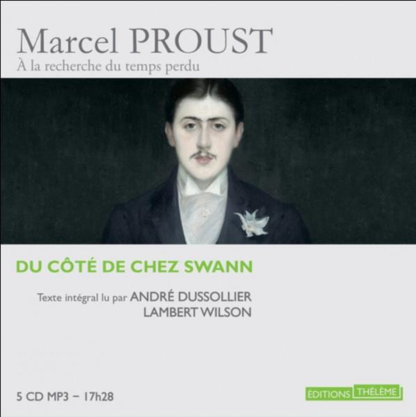 """Étant responsable de la sélection des manuscrits pour les éditions Gallimard, qui refusa le roman """"Du côté de chez Swann"""" de Marcel Proust."""