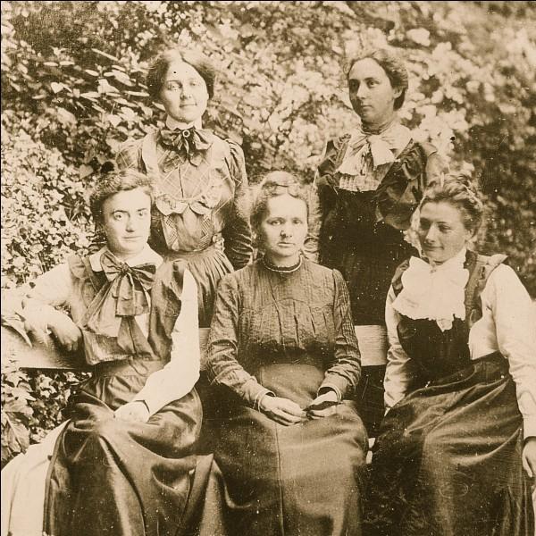 Quel était le prénom de l'épouse de Pierre Curie ?