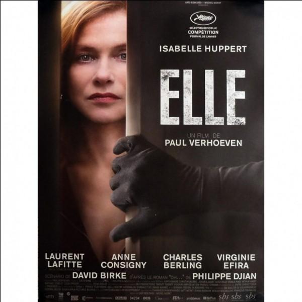 """En 2017, qui a remporté le César de la meilleure actrice pour son rôle dans le film """"Elle"""" de Paul Verhoeven ?"""