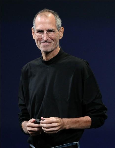 Steve Jobs est le créateur d'iPhone.