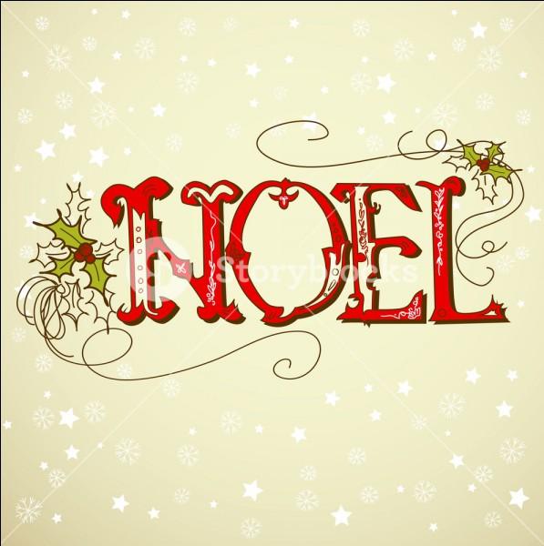 Noël se fête le 14 juillet.