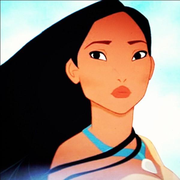 La princesse Pocahontas a vraiment existé.