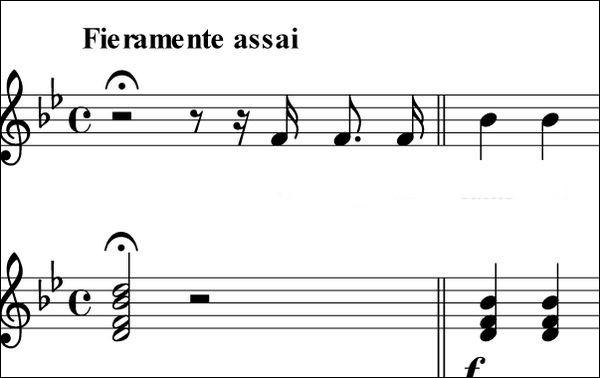 Tenez, essayez donc de chanter une quarte juste, par exemple. Comment faites-vous ?