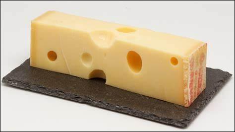 Dans l'emmental , plus il y a de fromage, moins il y a de fromage !