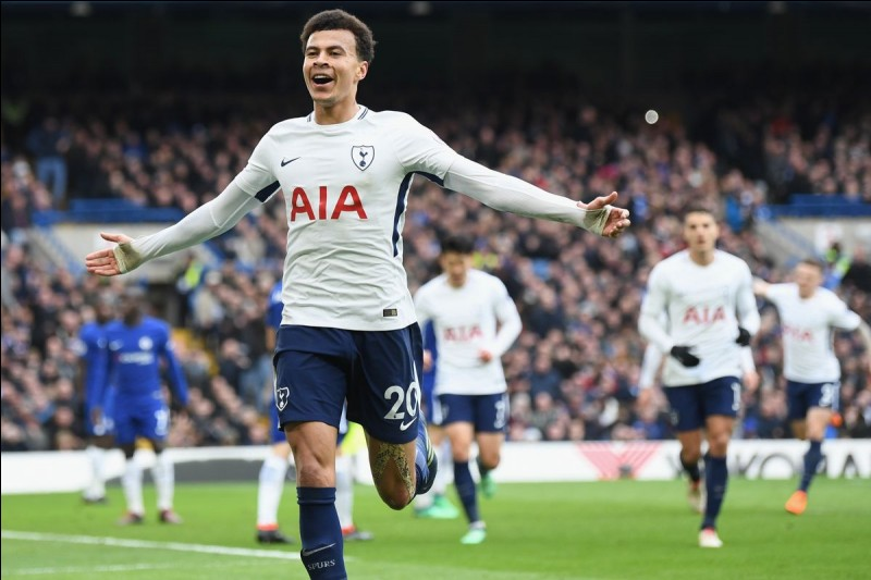 Comment se nomment les joueurs de Tottenham ?