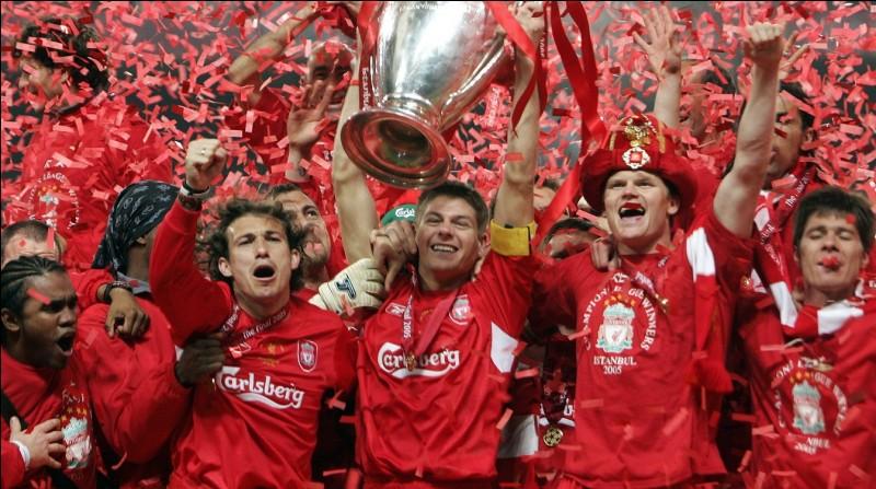 Combien de titres a remporté Liverpool en Ligue des Champions ?