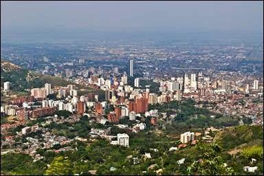 Ville d'Amérique latine, la troisième de Colombie :