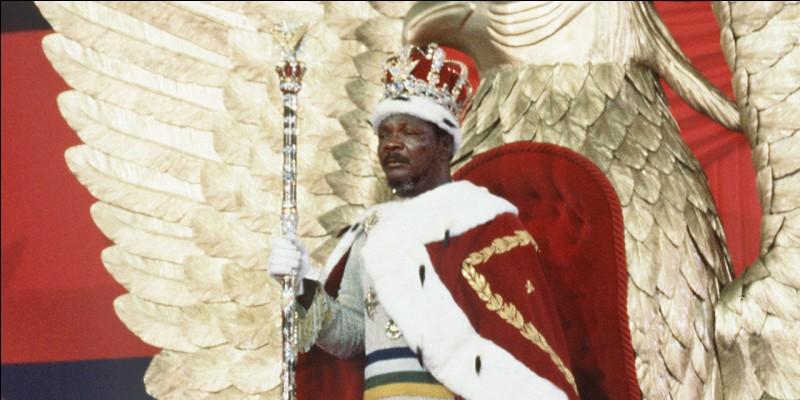 Pays : République centrafricaineDate : 1921-1996Faits : exécutions sommaires, tortures, culte de la personnalité.Chute : opération Caban, mort d'une crise cardiaqueQui est cet homme ?
