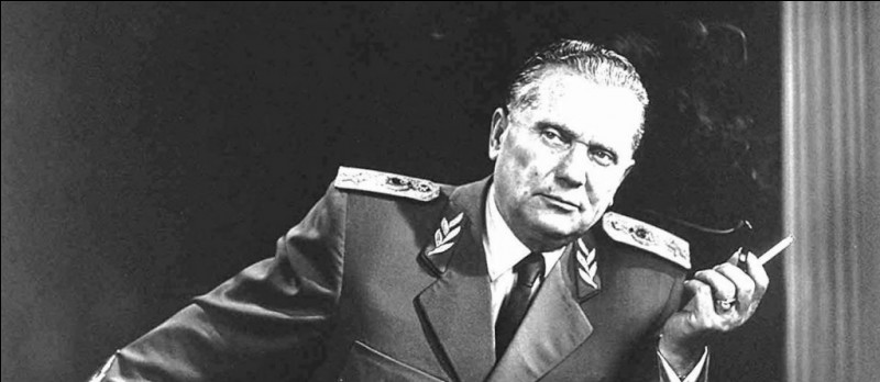 Pays : République fédérative socialiste de YougoslavieDate : 1892-1980Faits : absence de pluralisme politique, gouvernance sans interruption, le printemps croateChute : thrombose Qui est cet homme ?