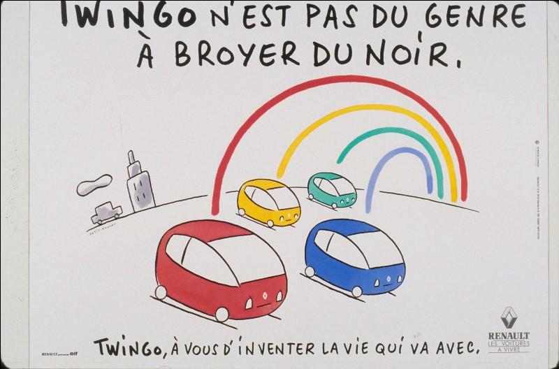 La Renault Twingo, lancée en 1993 comme un petit monospace, de fait de sa silhouette monocorps et de son espace habitable optimisé, a marqué les esprits par son faciès anthropomorphe et son nom, original et sympathique. D'où vient Twingo ?