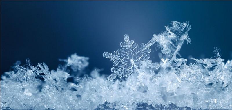 """Combien de """"bras"""" la plupart des flocons de neige ont-ils ?"""