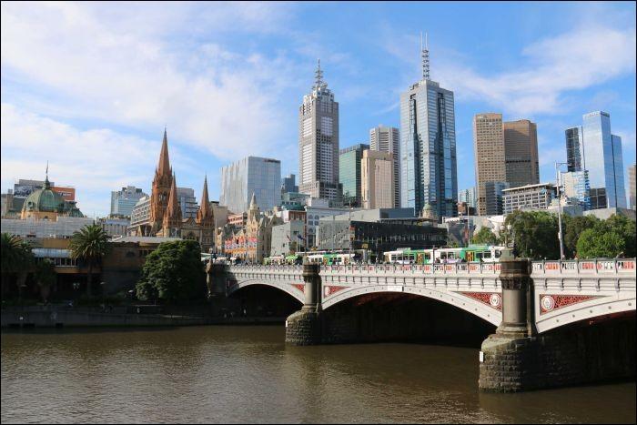 Quelle ville se situe en Australie ?