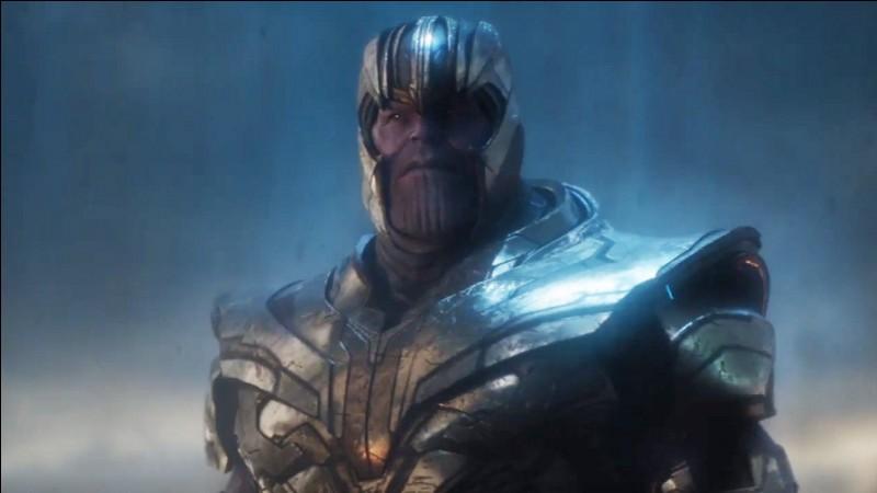 Quel personnage fait revenir Thanos de 2014 en 2023 ?