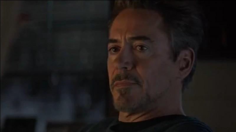 Qu'est-ce qui convainc Tony Stark de tenter le voyage dans le temps ?