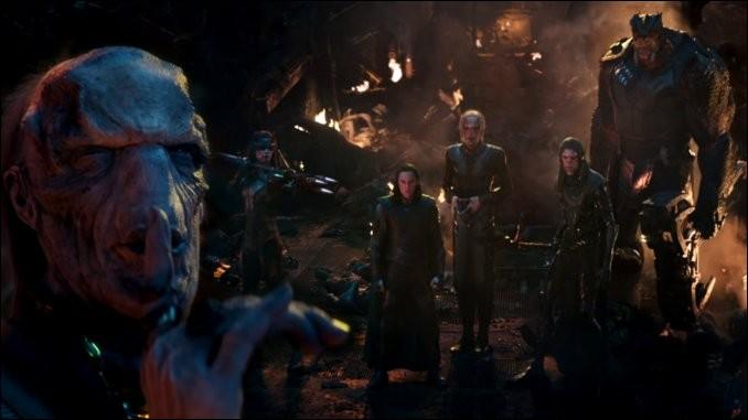 Quel est le personnage de l'Ordre Noir que l'on revoit en premier dans le film ?