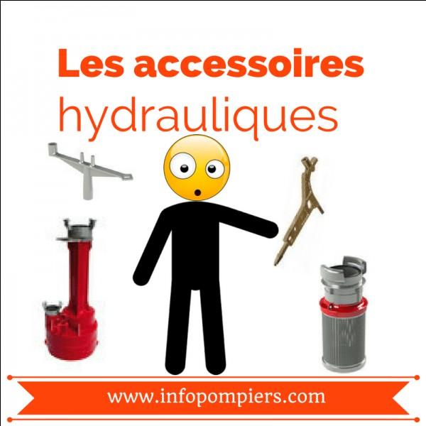 """L'intrus : qu'est-ce qui ne rentre pas dans la catégorie """"accessoires hydrauliques"""" ?"""