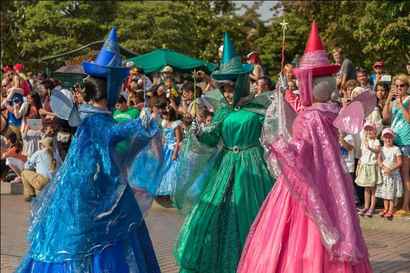 """De quel grand classique de Disney les trois """"fées-marraines"""" Flora, Pâquerette et Pimprenelle sont-elle tirées ?"""