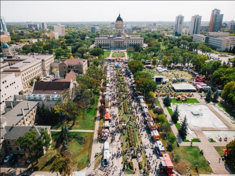 Winnipeg est la capitale de quelle province canadienne ?
