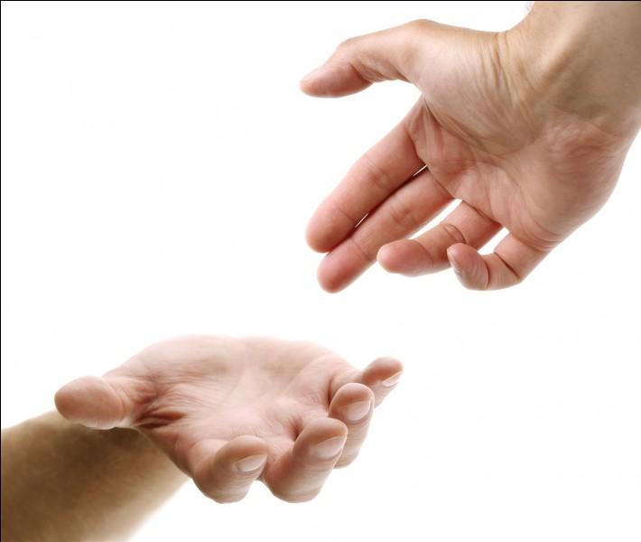 Aimes-tu aider les gens quand ils en ont besoin ?
