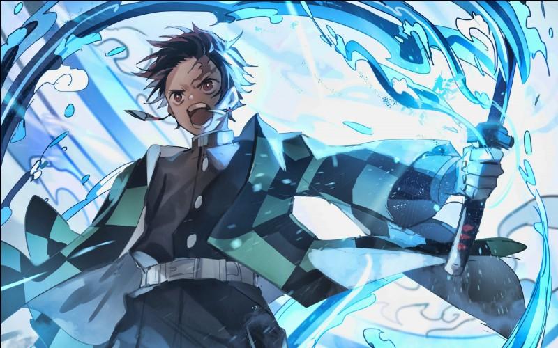 Combien de mouvements d'eau connaît Tanjiro ?