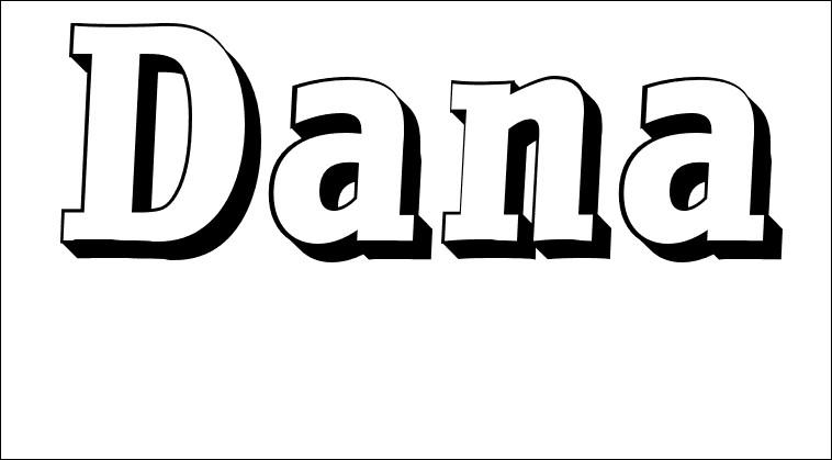 Terminons ce quiz avec ce prénom : Dana !