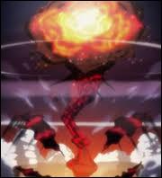 Comment s'appelle la bombe qu'a déclenchée Netero lors de sa mort ?