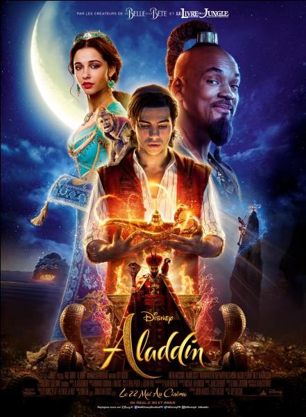 """Ton personnage préféré dans """"Aladdin"""" est :"""