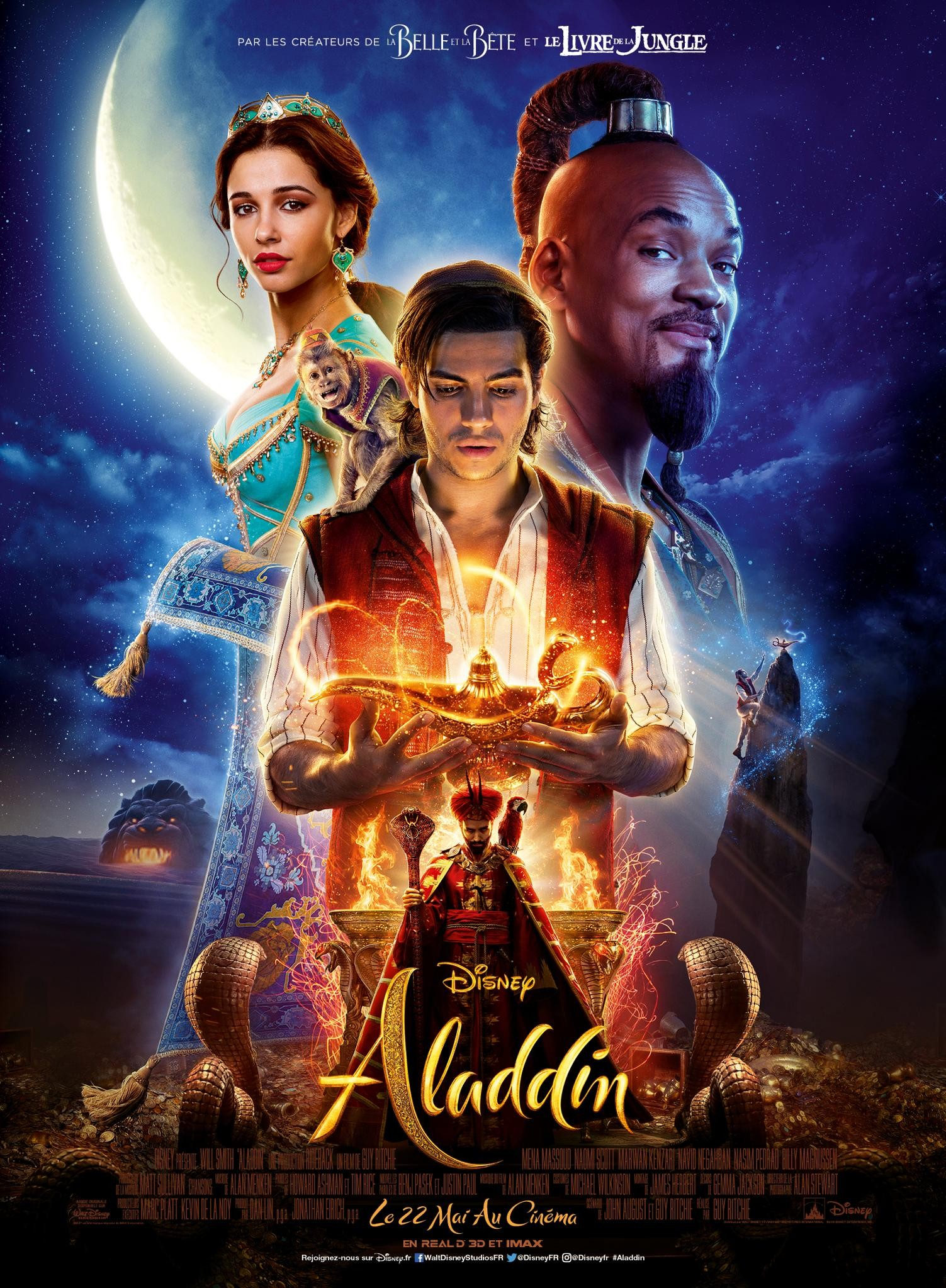Quel personnage d''Aladdin' es-tu ?