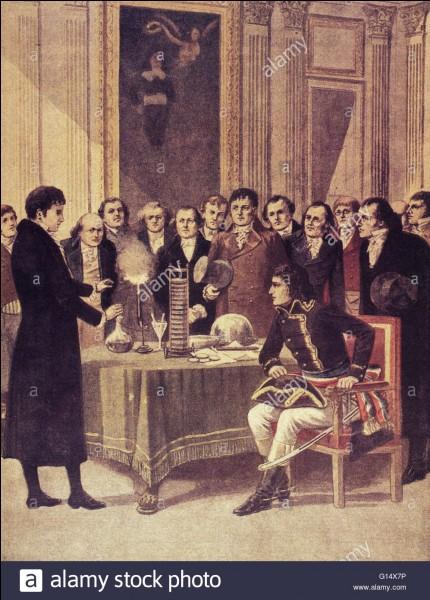 Qui était le comte italien Allessandro Volta ?