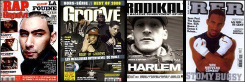 Quelle formule d'interview a inventé le magazine RAP R&B ?