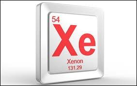 """""""X"""" comme """"xénon"""". A quel groupe de matières cet élément chimique appartient-il ?"""
