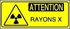 """""""X"""" comme """"rayons X"""". Dans lequel de ces domaines, cette forme de rayonnement électromagnétique à grande fréquence ne s'utilise-t-elle pas ?"""