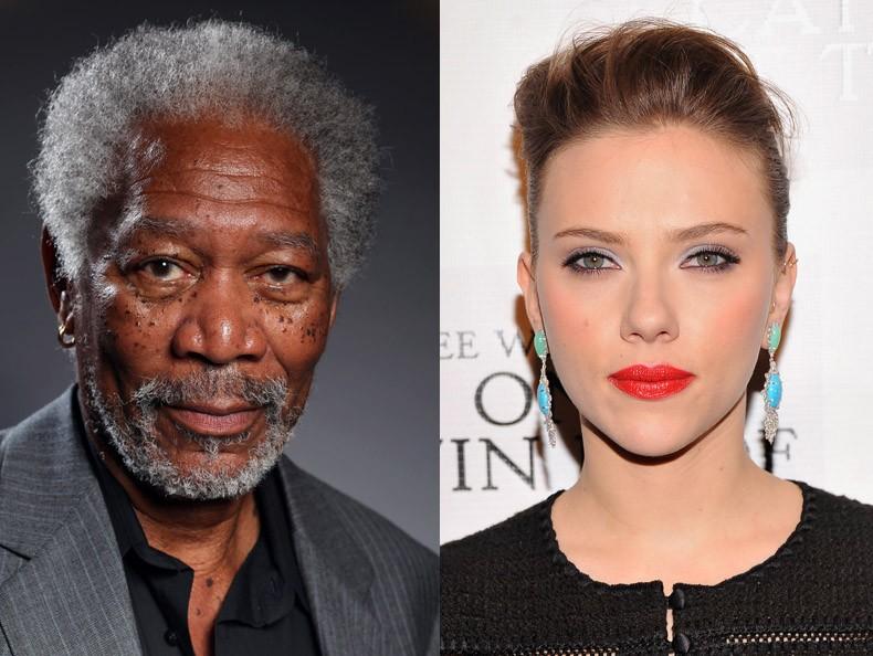 Morgan Freeman ou Scarlett Johansson