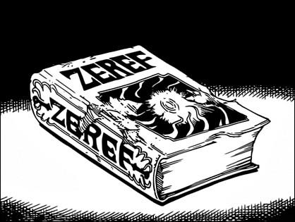 Comment se nomme le démon le plus puissant du livre de Zeleph ?